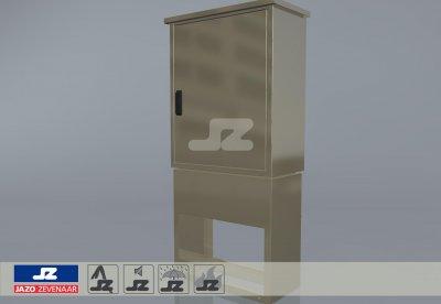 Gasmeterkast G16 incl. fundatie