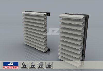 HS-50 schijnrooster aluminium