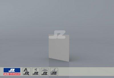 Stickerbord Enexis 300x300x2