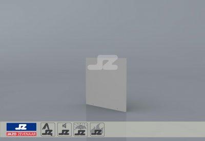 Stickerbord Liander 330x330x2