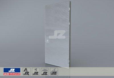 Type P aluminium deur 1256x2570 t/m 250 kVA R