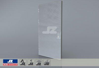 Type P aluminium deur 1340x2570 t/m 400 kVA L