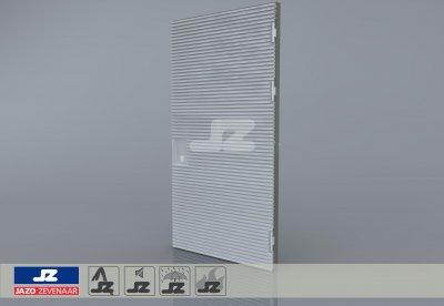 Type P aluminium deur 1340x2570 t/m 400 kVA R