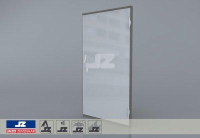 Type P aluminium deur inkoopstation Rechts