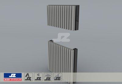 VS-42 schijnrooster aluminium