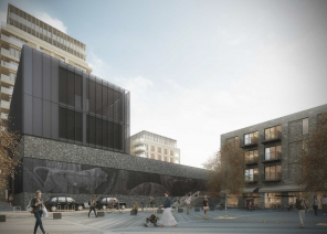 Ventilatieroosters voor Woolwich Central Station